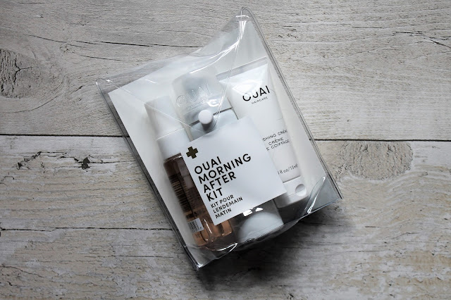OUAI Morning After Kit Review