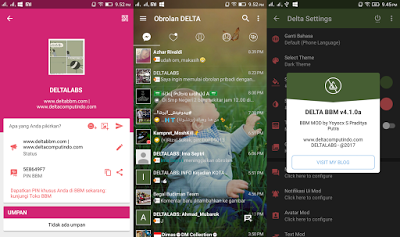 Link Download BBM MOD DELTA v32512