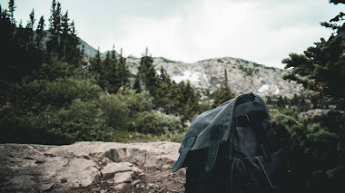 Photography of backpack