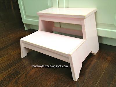 diy kids step stool for girls