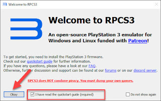 Download & Setting Emulator PS3(RPCS3) Untuk Windows