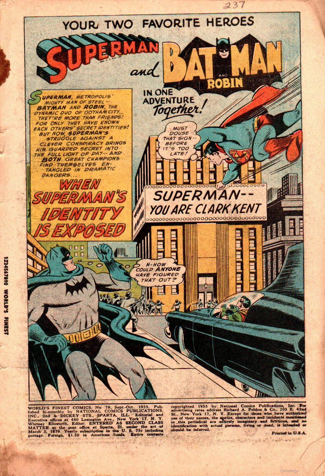 Read online World's Finest Comics comic -  Issue #78 - 3
