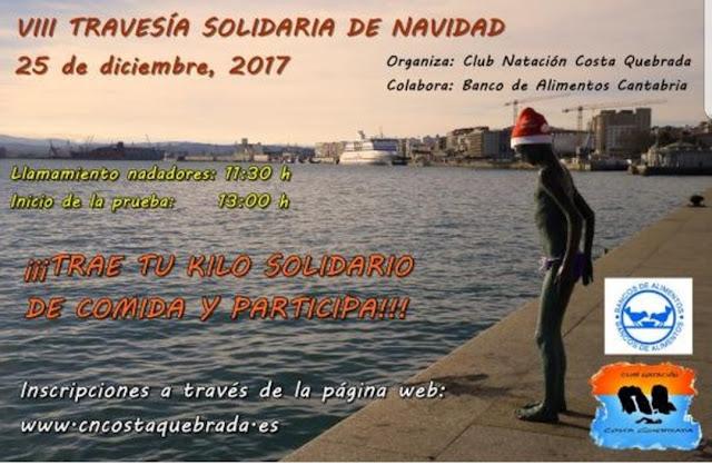 VIII Travesía solidaria de Navidad en Santander