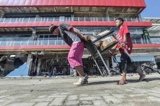 Pengambilan barang secara sepihak di toko ritel Palu, Aprindo: Pemerintah arogan