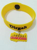 Gelang Karet Promosi / rubber wrist band Gelang dengan sambungan