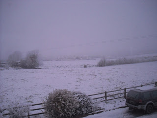 A wintry scene in the west of Ireland