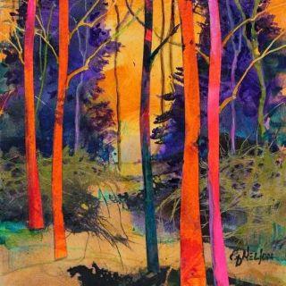 Смесь абстракции и реализма. Carol Nelson