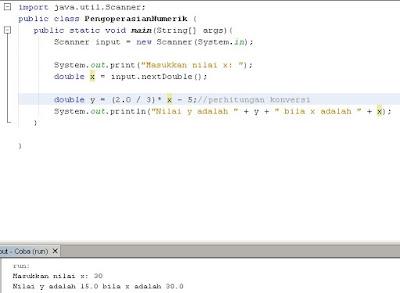 Memahami Dasar Operator Numerik Dalam Java