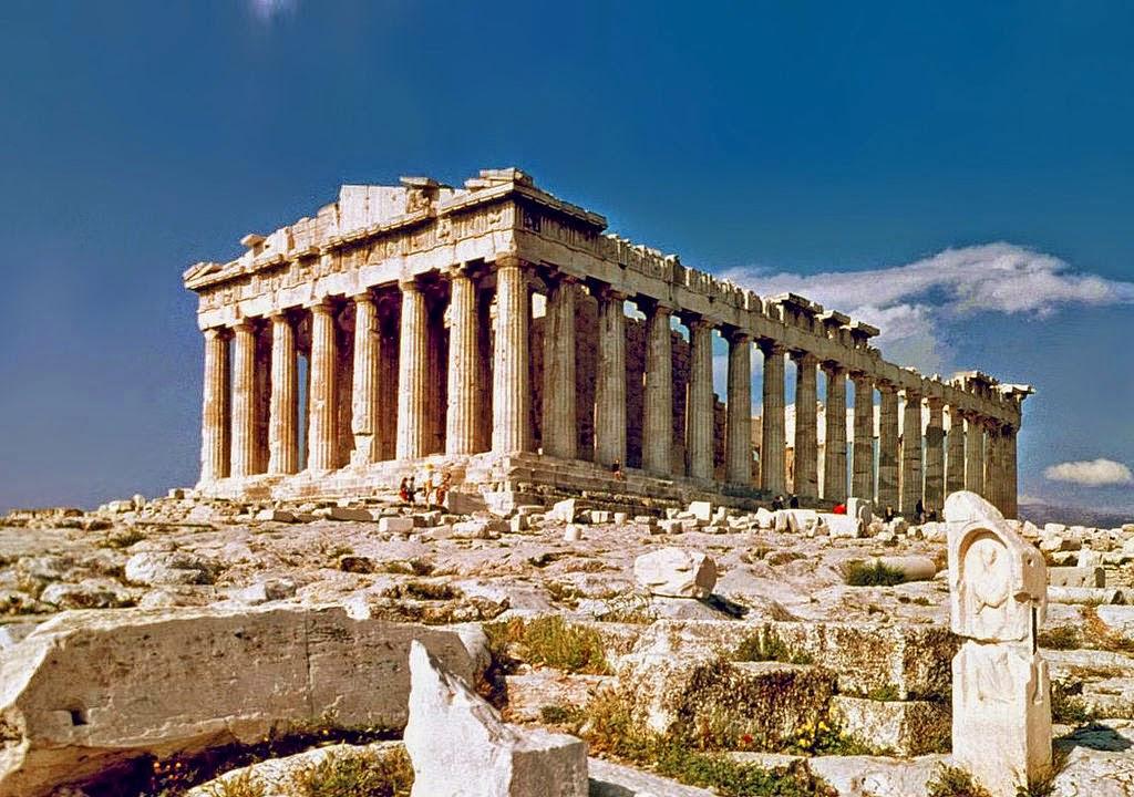 #Pártenon, Templo Consagrado à Deusa Atena