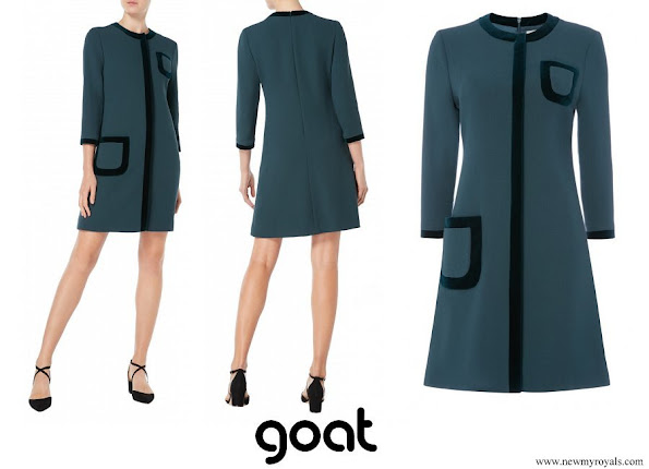 Princess Marie wore Goat Fashion Garcia Tunic Dress