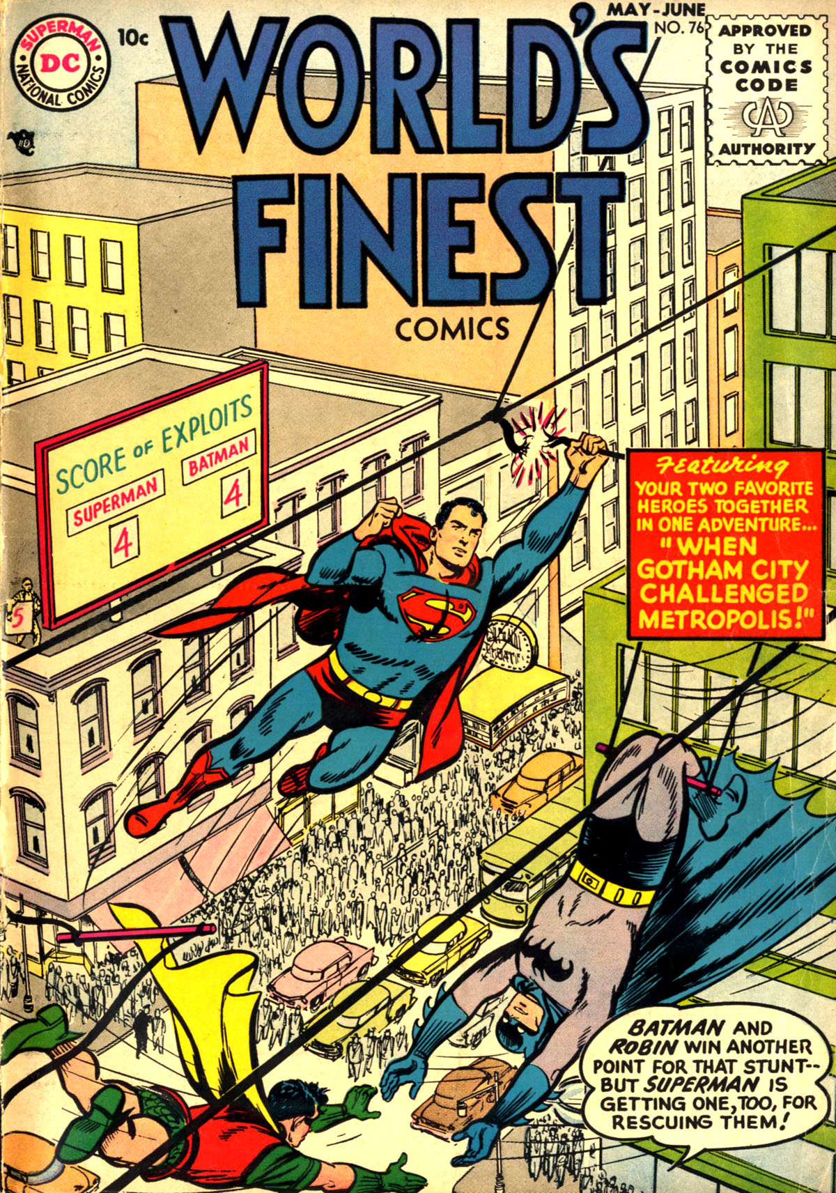 Read online World's Finest Comics comic -  Issue #76 - 1