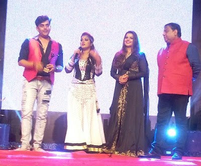 Ravi Kihsan, Anjana Singh, Madhu Sharma  photos of Sabrang Samaroh Film Award