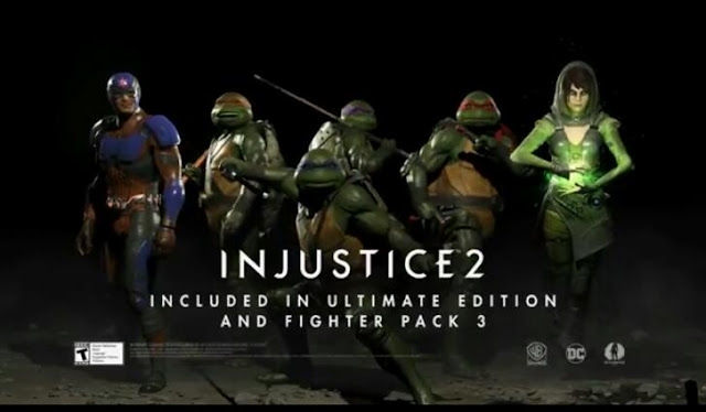Heroes for Fighter Pack 3 revealed~ Injustice 2