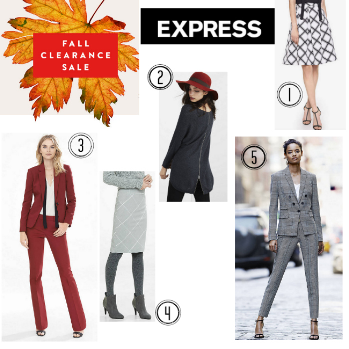 Fall fashion staples on sale