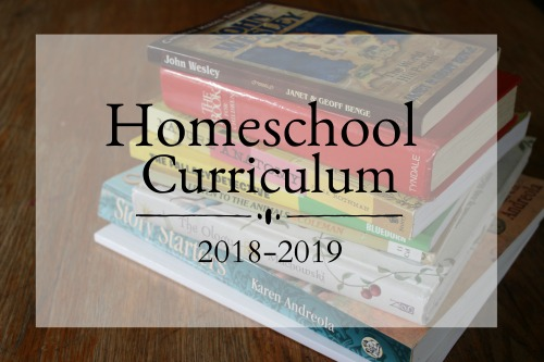 Homeschool Curriculum 2018-2019 for a family of 7 #homeschool