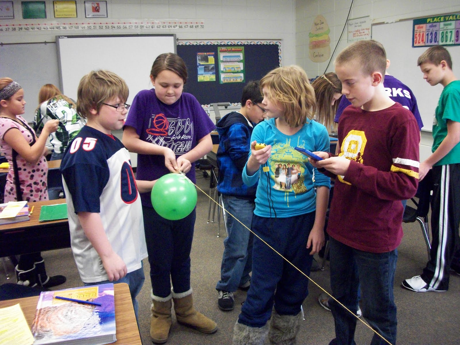 Scc 5th Grade Motion Experiments In Science
