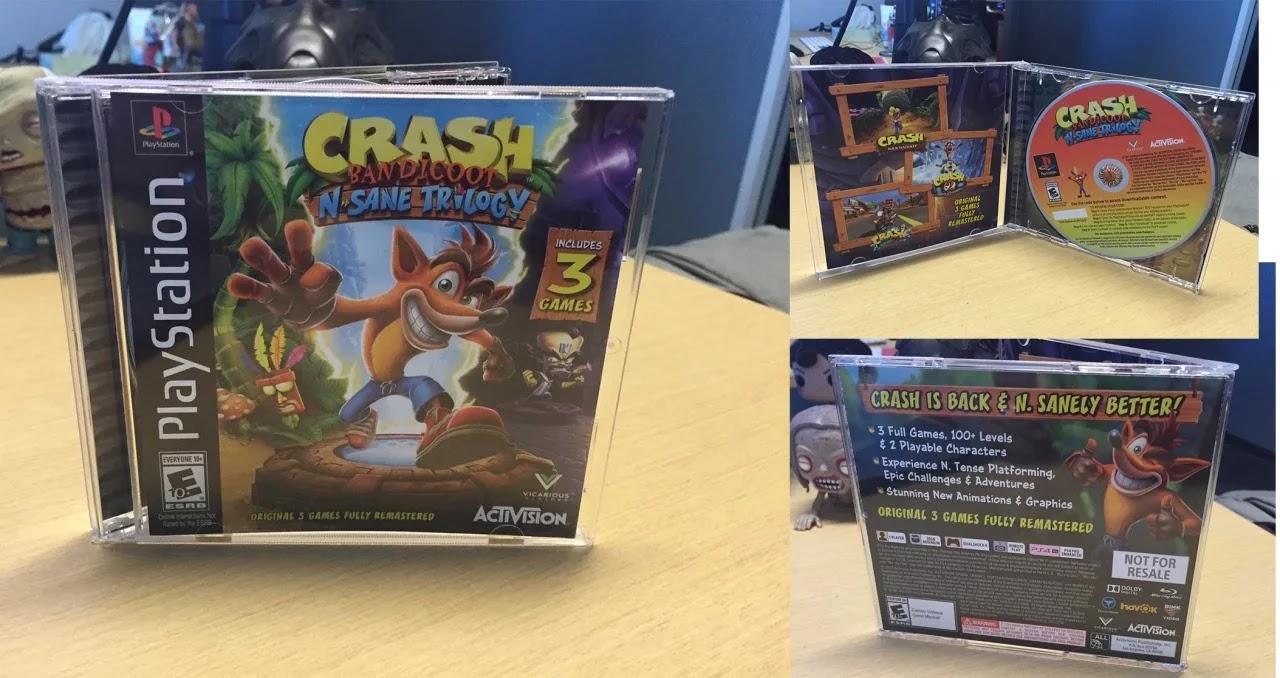¡Empleados de PlayStation reciben espectacular edición de Crash Bandicoot N Sane Trilogy!