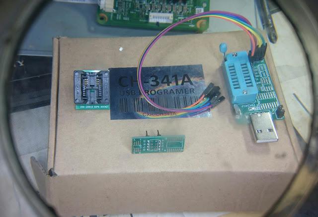 EPROM Programmer CH-341A USB