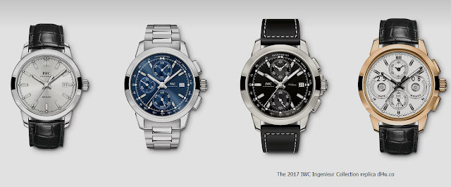 The 2017 IWC Ingenieur Collection