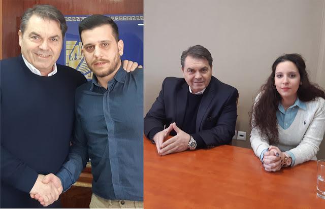 Δυο ακόμη νέοι άνθρωποι με τον Δημήτρη Καμπόσο (βίντεο)