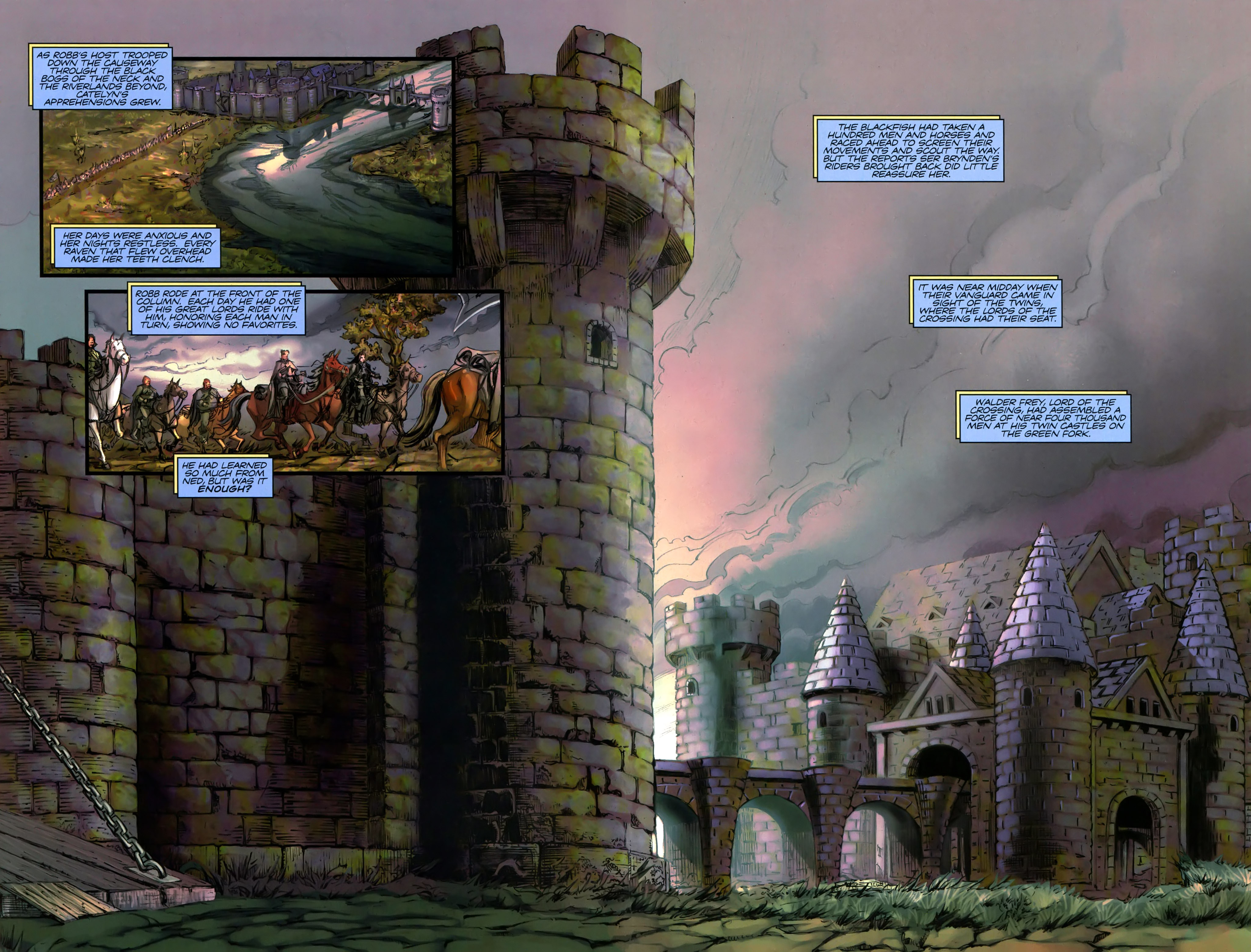 Read online A Game Of Thrones comic -  Issue #19 - 16