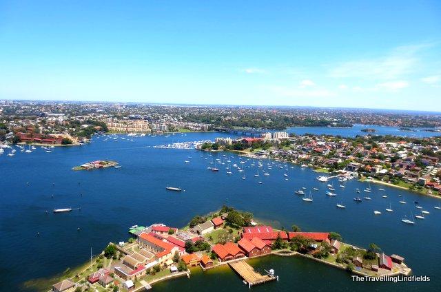 Spectacle Island, Parramatta River, Sydney