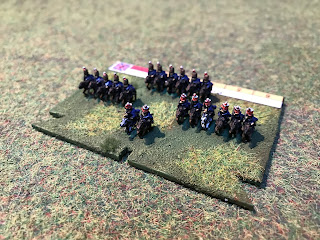 6mm Baccus Figures of the 6th Cavalry brigade of 1815
