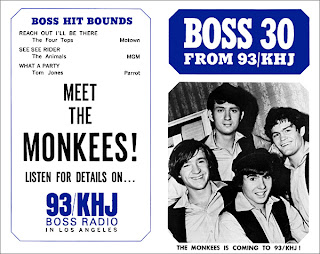 KHJ Boss 30 No. 60 - The Monkees