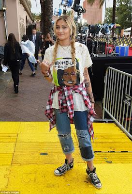 Paris Jackson crowned 'worst dressed' at MTV Movie & TV Awards