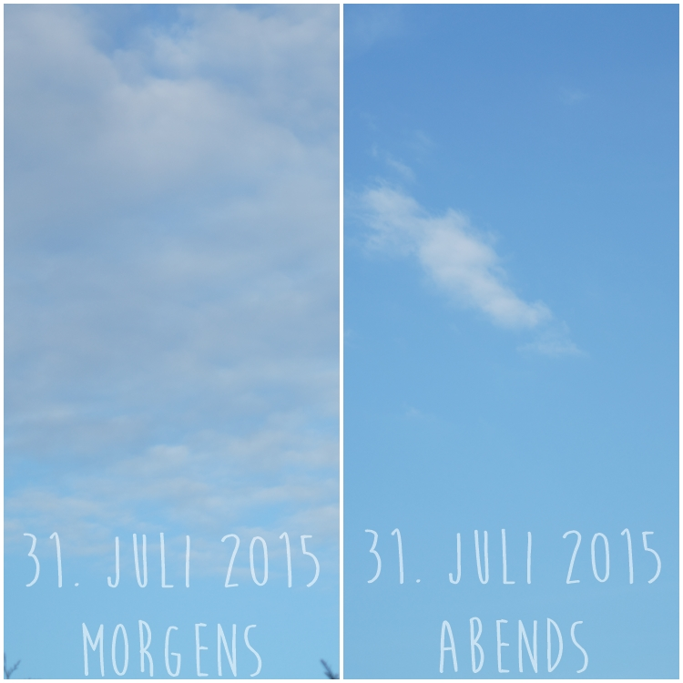 Blog & Fotografie by it's me! - Himmel am 31.07.2015