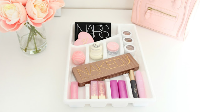 Dollar Tree Makeup Storage, Inexpensive makeup storage, Makeup storage ideas, DIY Makeup Storage, Cheap Makeup Storage Ideas