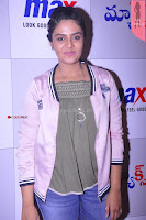 Sri Mukhi in Denim and Jacket at Max Summer Collection Launch  Exclusive 011.JPG