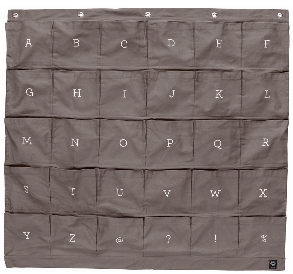 wall organizer pockets fabric