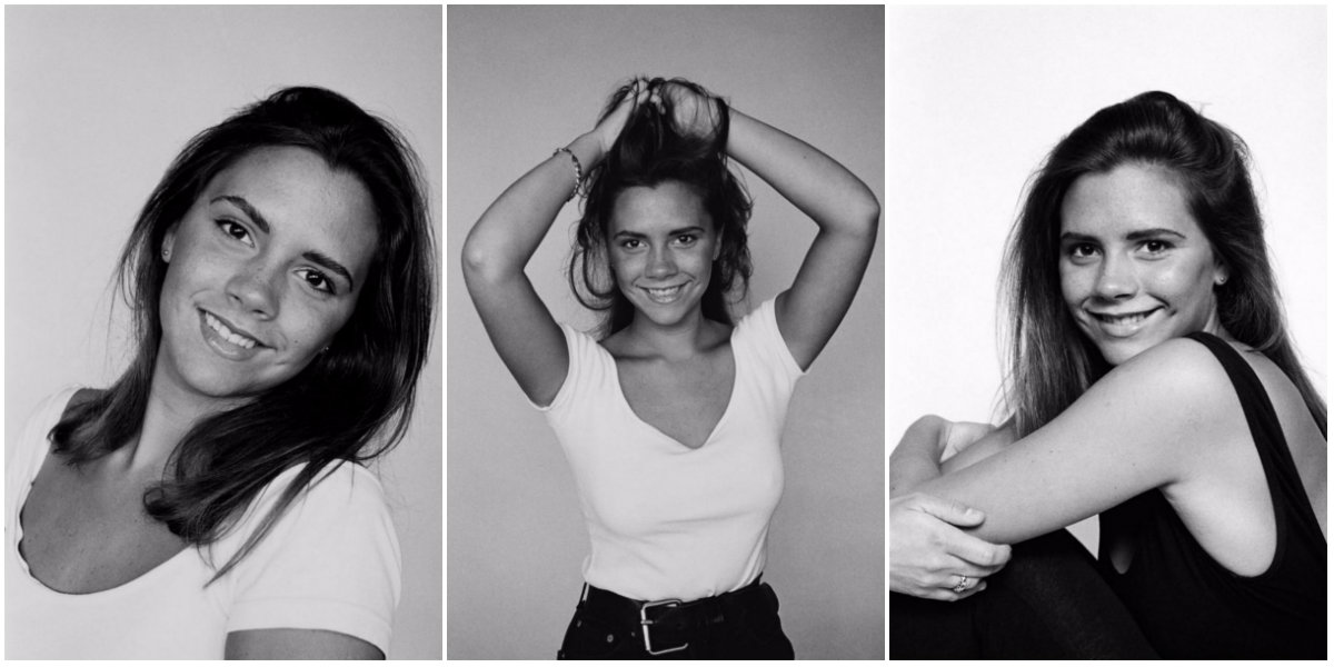 Rare Photographs Of Victoria Beckham From A 1992 Photoshoot Vintage News Daily