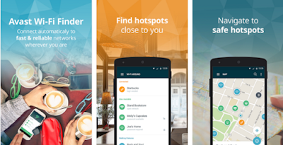 Avast WiFi Finder & Passwords for Android app free download images1
