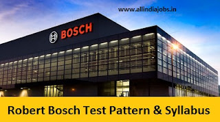 Robert Bosch Test Pattern