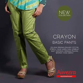 Celana Basic Crayon Pants