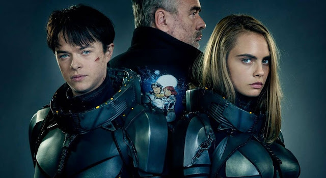 Dane DeHaan e Cara Delevingne nas primeiras imagens de Valerian and the City of a Thousand Planets