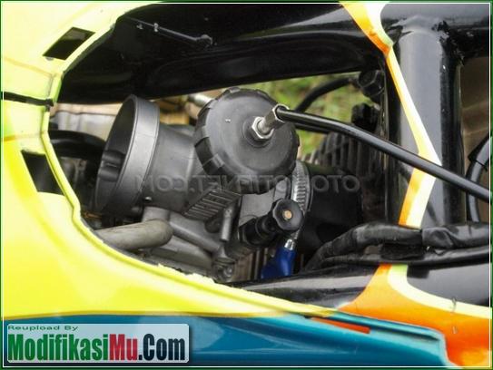 Piston Dan Mesin - Video Cara Modifikasi Suzuki Satria F150 250cc 2555cc Drag Bike Racing Look Kolor Ijo Tercepat Untuk Harian