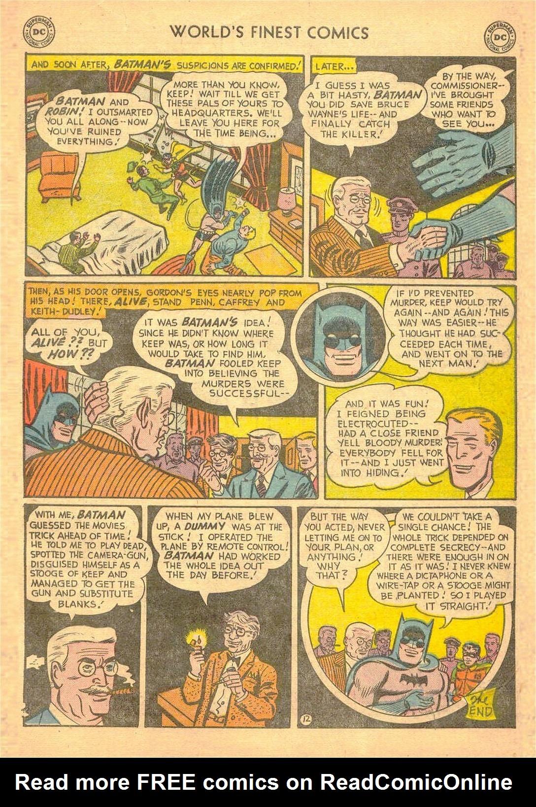Read online World's Finest Comics comic -  Issue #58 - 65