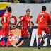 Colombia perdió 2-0 con Chile