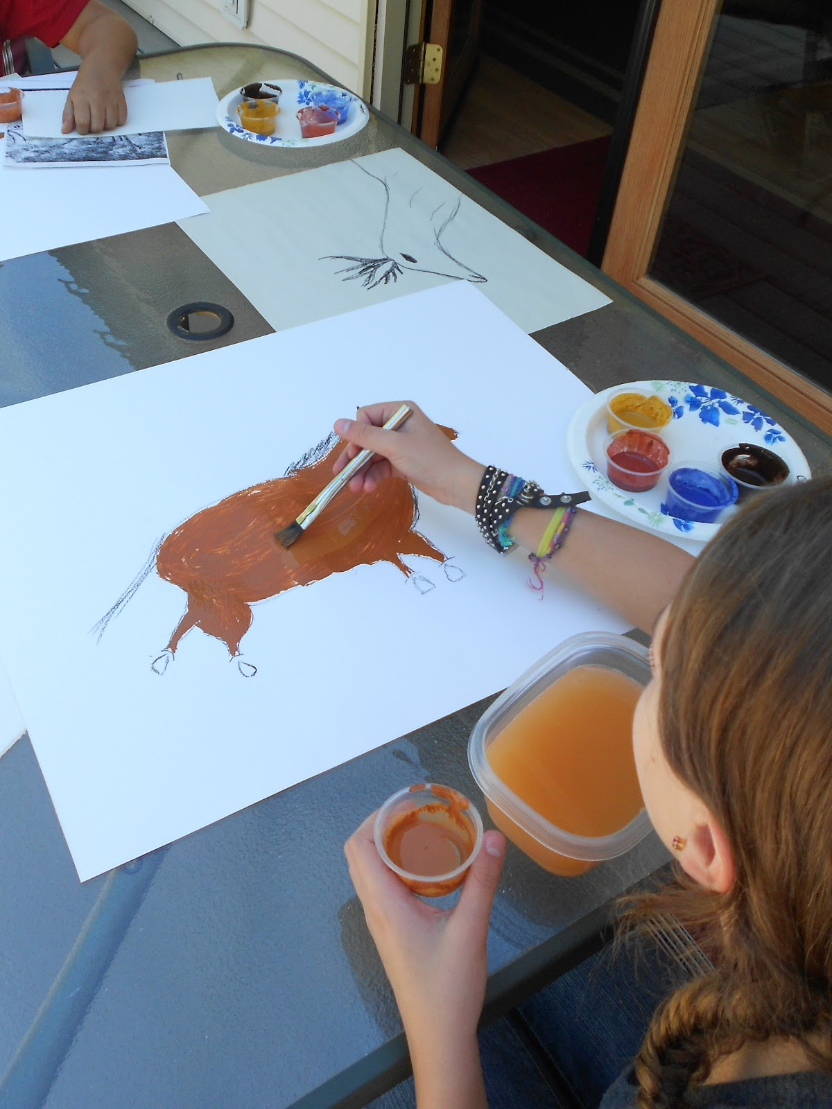 Art Cave Paintings For Kids