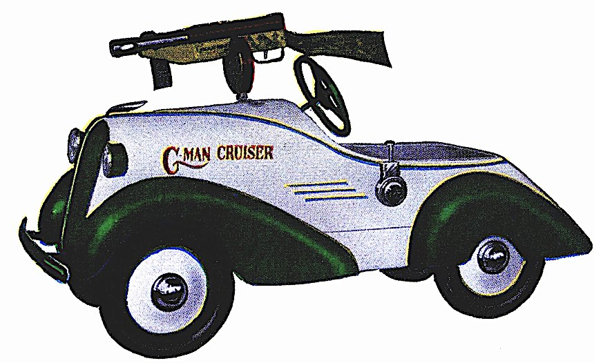 1930 peddlecar, G-man cruiser