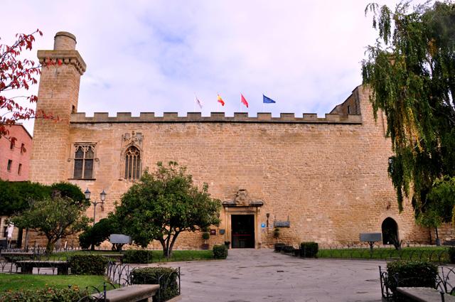 Parador Principe de Viana Olite Navarra
