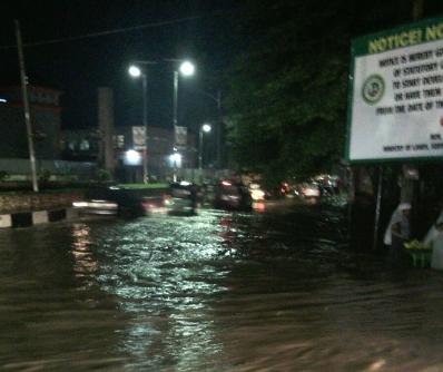 heavy rainfall owerri imo state