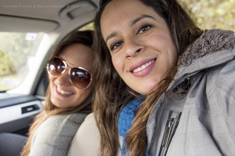 selfie dentro do carro
