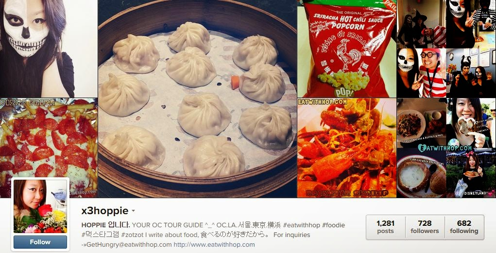 FOR LATEST FOODIE ADVENTURES, FOLLOW X3HOPPIE ON INSTAGRAM!