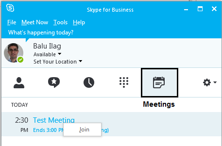 Best practices to join external Skype for Business (Lync) meeting or