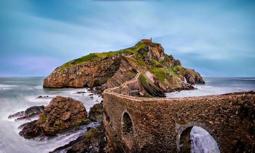 Gaztelugatxe, Spain - 20 Mystical Bridges That Will Take You To Another World