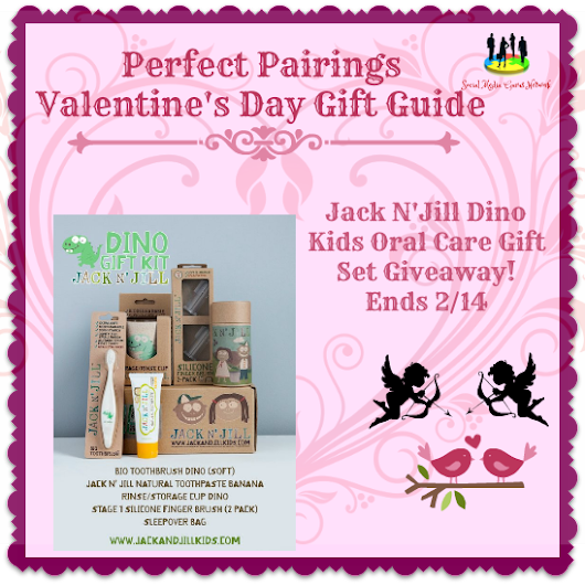 Jack and Jill Dino Kids Oral Care Gift Set Giveaway #sorteo @tfasm